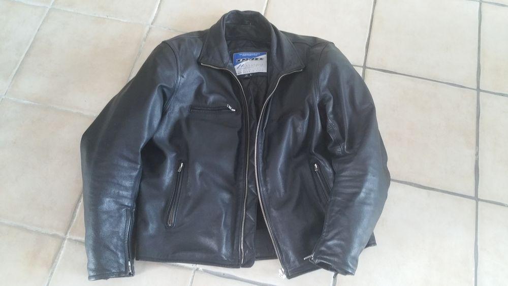 Blouson moto cuir marque dmp