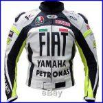 Blouson moto cuir yamaha