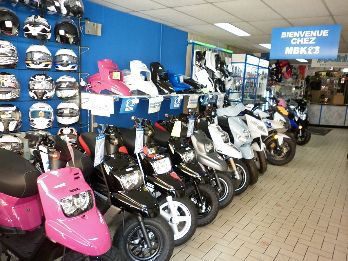 Concessionnaire scooter occasion