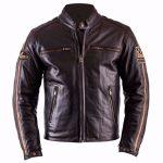 Blouson cuir moto 6xl