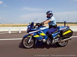 Blouson moto type gendarmerie