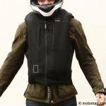 Blouson airbag moto bering