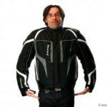 Blouson moto synthétique