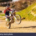 Moto en roue