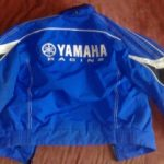 Blouson moto yamaha homme