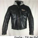 Blouson moto cuir segura