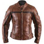 Blouson cuir de moto femme