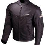 Blouson cuir noir moto homme