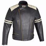 Blouson moto vintage cuir