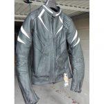 Blouson en cuir femme moto
