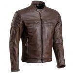 Blouson cuir vintage moto homme