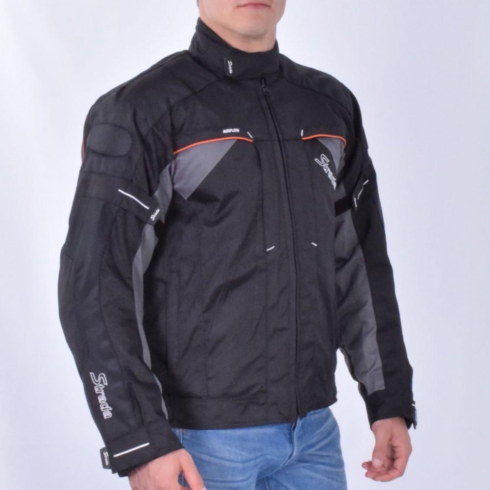Blouson de moto homme textile