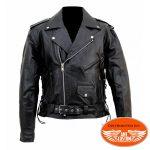 Blouson cuir moto homme perfecto