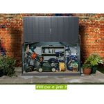 Garage moto exterieur