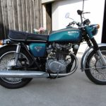 Honda moto a vendre