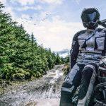 Blouson et casque moto
