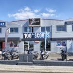 Garage scooter bordeaux