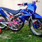 Roue de moto 50cc