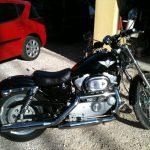 Moto 125 custom d'occasion