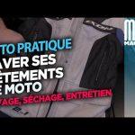 Comment nettoyer blouson moto textile
