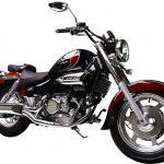 Moto occasion 125 cm3 custom
