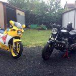 Garage deux roues