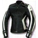 Blouson cuir moto femme solde