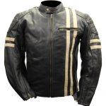 Blouson moto cuire vintage