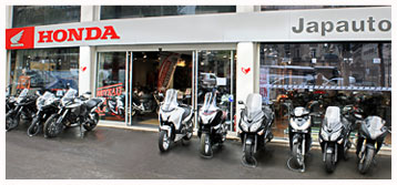 Magasin de moto paris