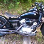 Moto 125 custom hyosung aquila occasion