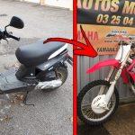 Acheter une moto crosse