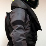 Blouson moto airbag gendarmerie
