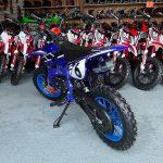 Garage moto enfant