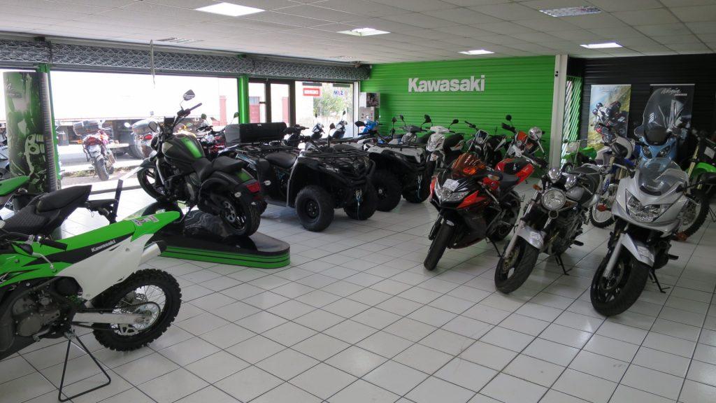 Concessionnaire moto kawasaki