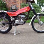Moto trial occasion