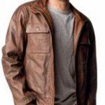 Blouson cuir moto habillé