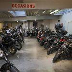 Vendeur moto occasion