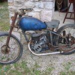 Vieille moto occasion