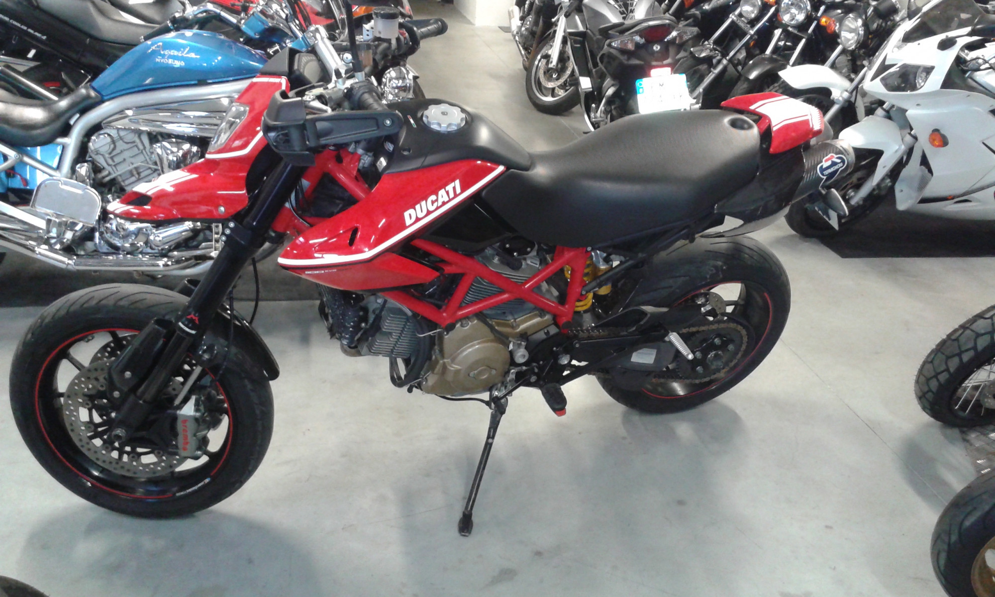 Garage moto occasion bretagne
