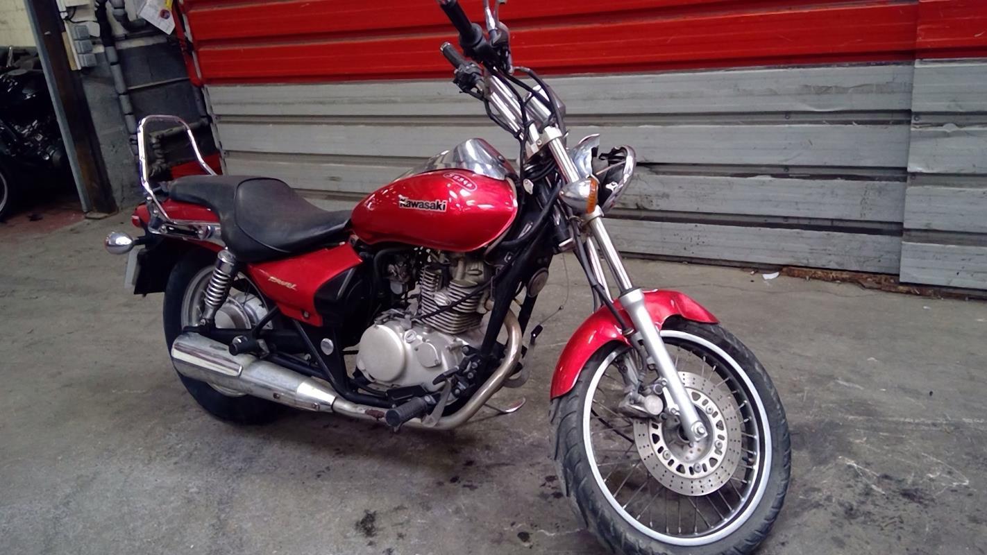 Moto occasion custom kawasaki