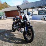 Moto 125cc occasion chambery