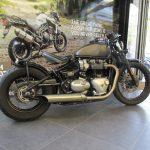 Moto custom d'occasion
