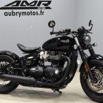 Moto custom triumph occasion