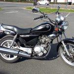 Moto custom occasion yamaha
