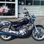 Moto 125 cm3 custom d'occasion