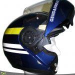 Blouson moto bleu gendarmerie