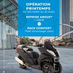 Argus pour scooter 50cc