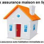 Assurance maison pas cher