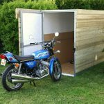 Garage pour moto