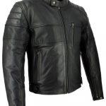 Blouson cuir moto discount